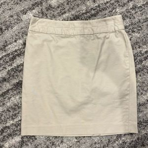 Banana Republic beige pencil skirt